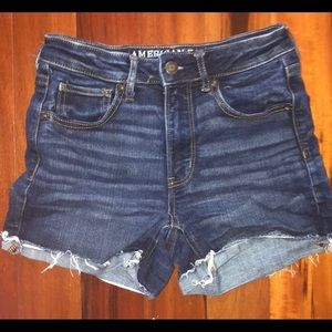 American Eagle Super High Rise Shorts